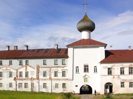 Paysages bucoliques aux îles Solovki…