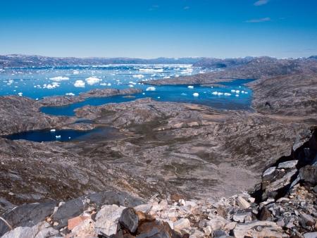 Randonnée jusqu'au fjord de Sermilik