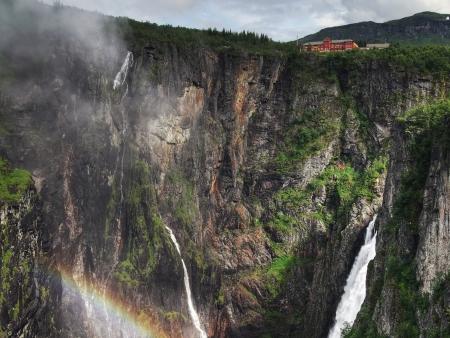 Entrée dans la région des fjords