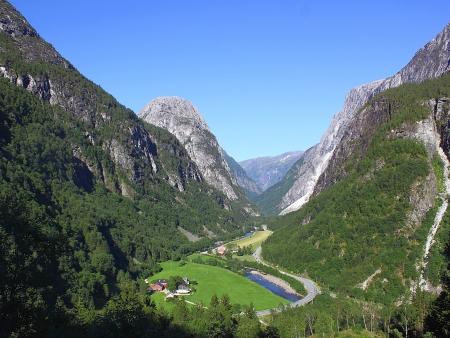 Le plus long fjord de Norvège : le Sognefjord