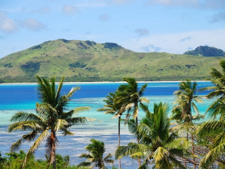 Arrivée aux Iles Fidji