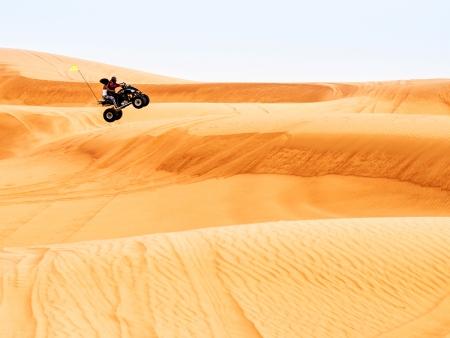 Sensations fortes entre dunes et océan