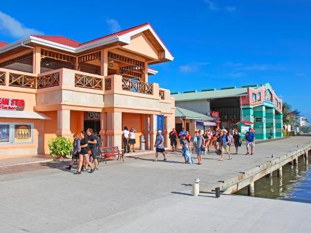 Départ du Belize