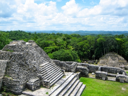 Le site Maya, le plus important du Belize…