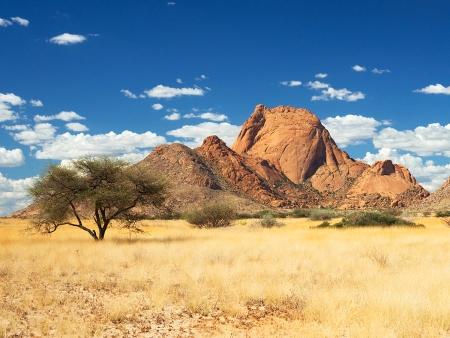 Le Kaokoland aride et sauvage (350km)